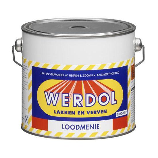 Afbeeldingen van Werdol loodmenie per 2 liter