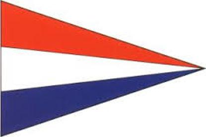 Afbeeldingen van Vlag Nederland (puntvlag) 40 x 60