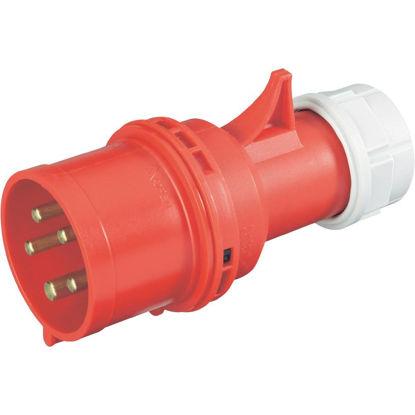 Afbeeldingen van Fasewenderstekker 5-polig, 380V/32A
