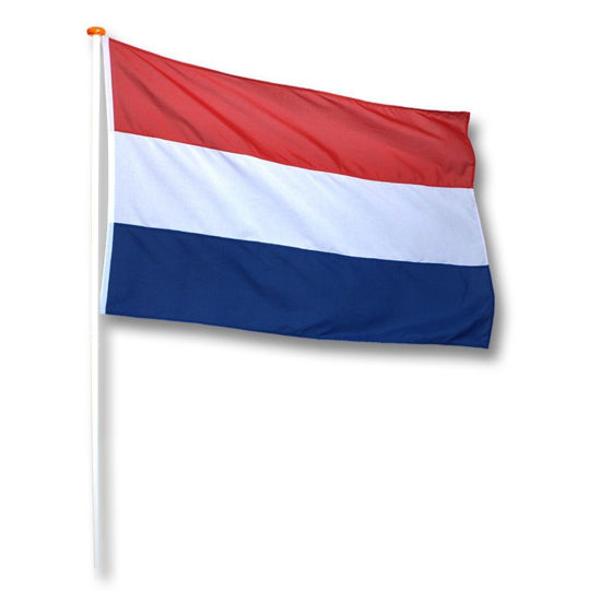 Afbeeldingen van Vlag Nederland 50 x 75