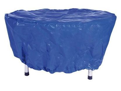 Afbeeldingen van Trossenbakhoes blauw 100-110cm