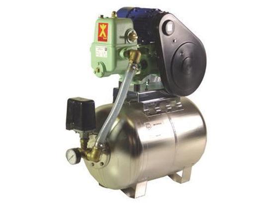 Afbeeldingen van Hydrofoor Speck PM10 RVS 100 liter 400V