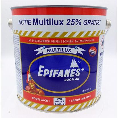 Afbeeldingen van Epifanes Multilux per 2,5 liter AKTIE