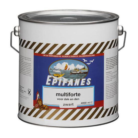 Afbeeldingen van Epifanes Multiforte electrisch blauw per 4 liter