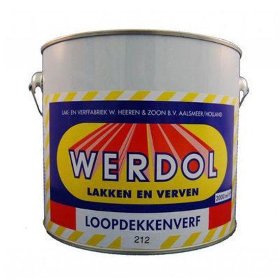 Afbeeldingen van Werdol loopdekkenverf nr. 218 per 2 liter